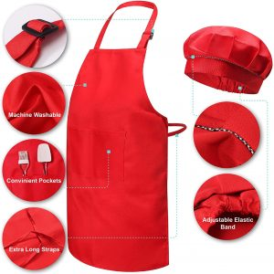 Risebrite Kids Baking Set Apron Features