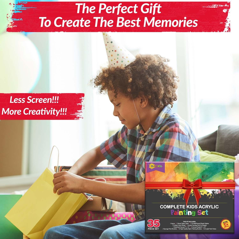 RiseBrite Kids Art Set Is A Great Gift To Kids To Create Memories