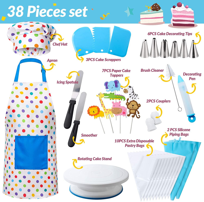 RiseBrite Kids Cake Decoration Set Item Details