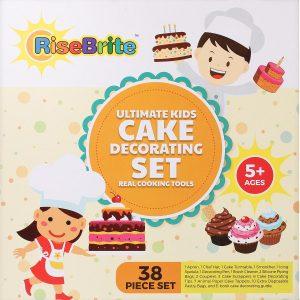 RiseBrite Ultimate Kids Cake Decorating Set Box