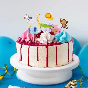 RiseBrite Kids Cake Decoration Set Cake Toppers