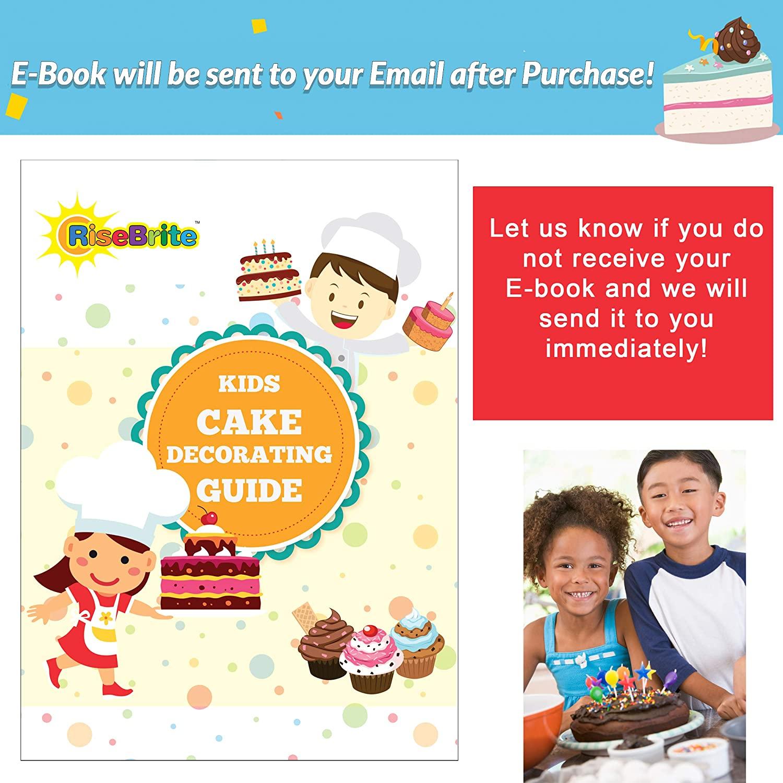 RiseBrite Kids Cake Decoration Set E-book