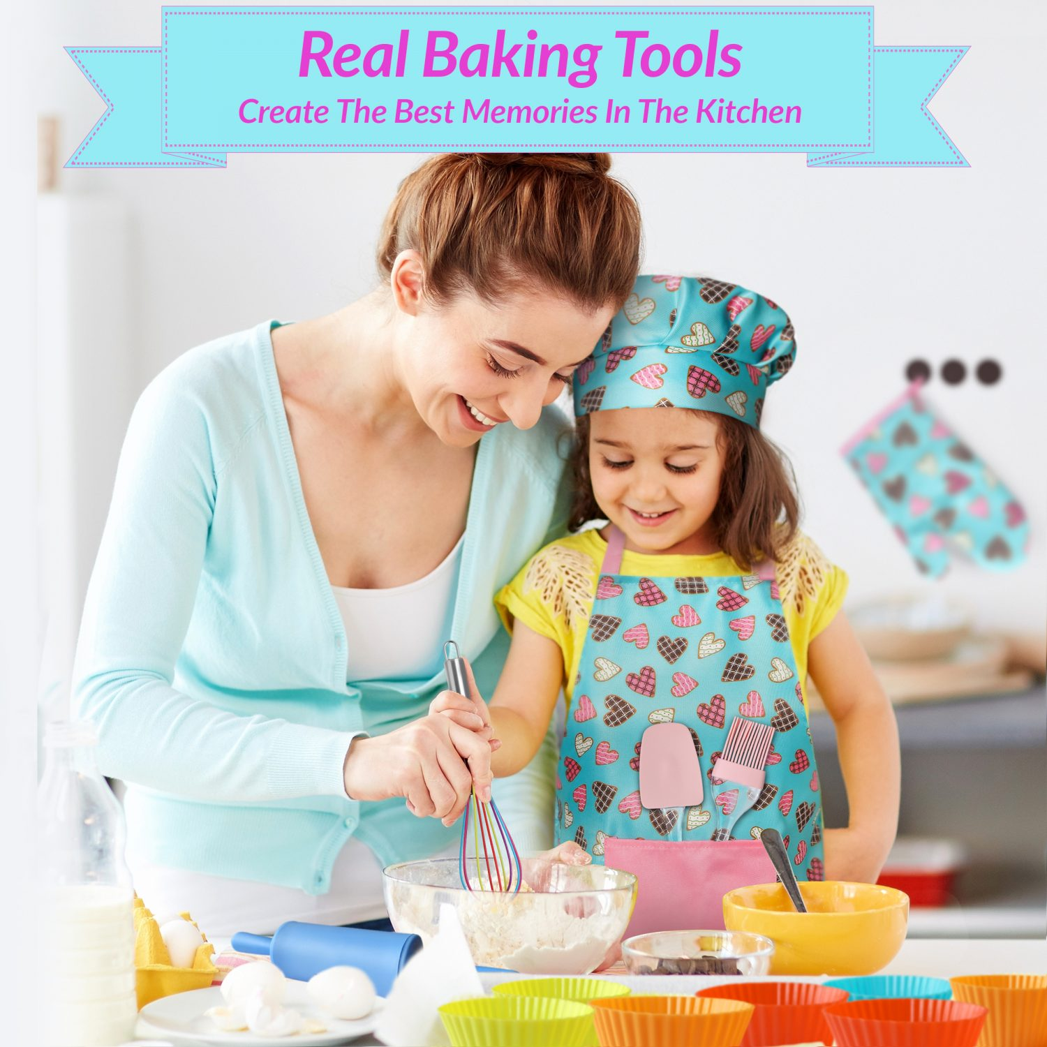 Create Real Memories In The Kitchen With Real Baking Tools