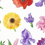 Easy Watercolor Flower Painting for Kids and Beginners