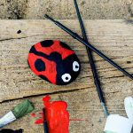 Cute Animal Rock Painting Step-by-Step Tutorial for Kids